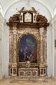 Altare maggiore con la tela