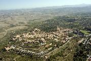 Foto aerea di Montalcino