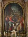 Altare maggiore prima del restauro