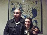 Luca Cosimi con sorella
