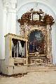 Altare maggiore e organo Agati 1858