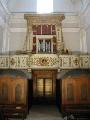 Cantoria con organo Agati prima del restauro