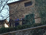 GARA DI TIRO CON L'ARCO.SPETTATRICI