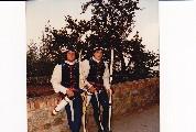Gli arcieri Massimo e Maurizio Bovini