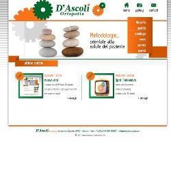 SITO WEB D'ASCOLI ORTOPEDIA